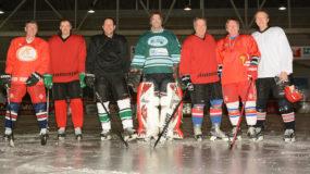Andi an the icehockey team