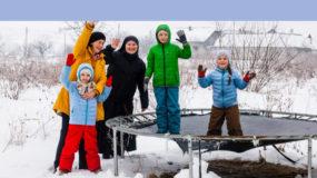 Happy kids in Ukraine