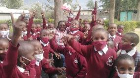 Backpacks for Kenya