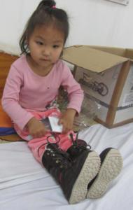 Schuhe Homeservice Kind
